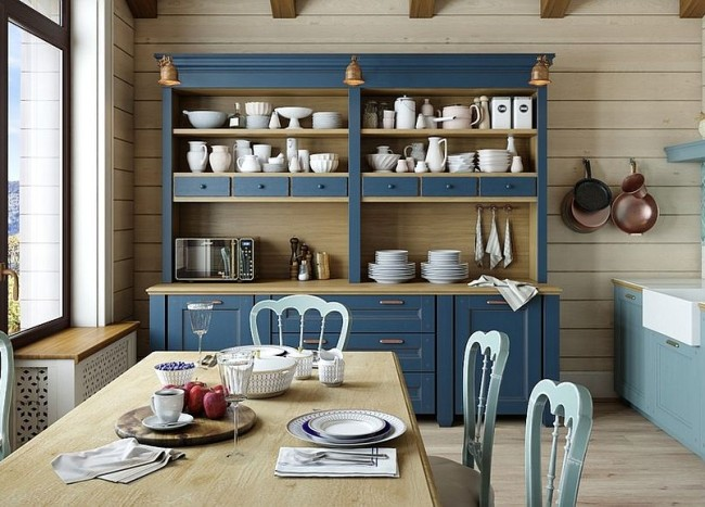 Organizational Delight: 30 Smart Dining Room Hutches and China Cabinets