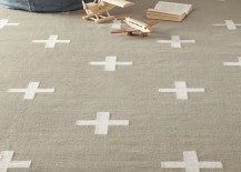 Flatweave rug from RH Baby & Child