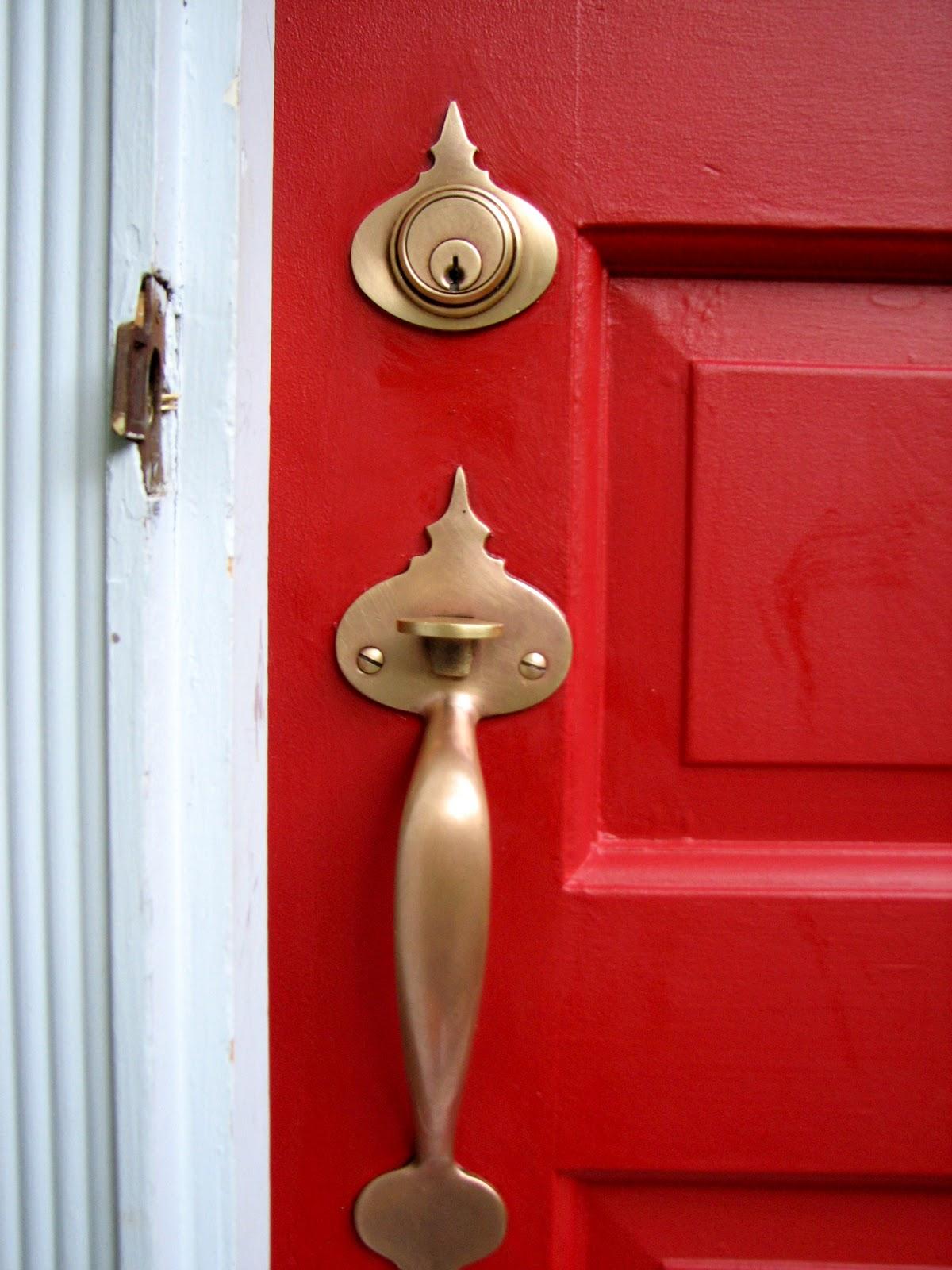 Front door handle
