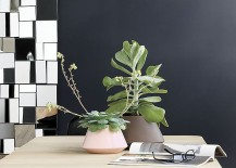 Geometric planters from CB2
