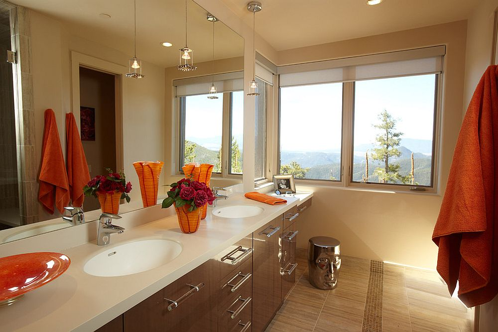 It need not always be the window next to the bathtub with the best views!