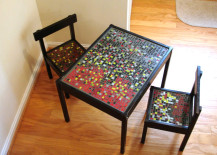 Kids' table and chair DIY from A Copper Coil