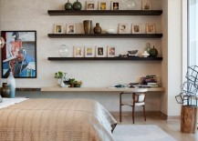 Ledge shelving for photos