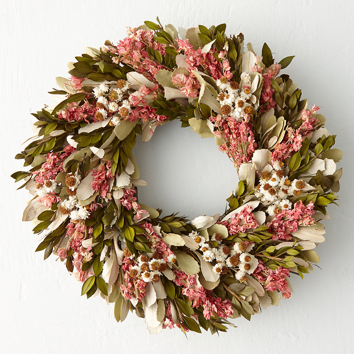 Lovely garden wreath from Terrain