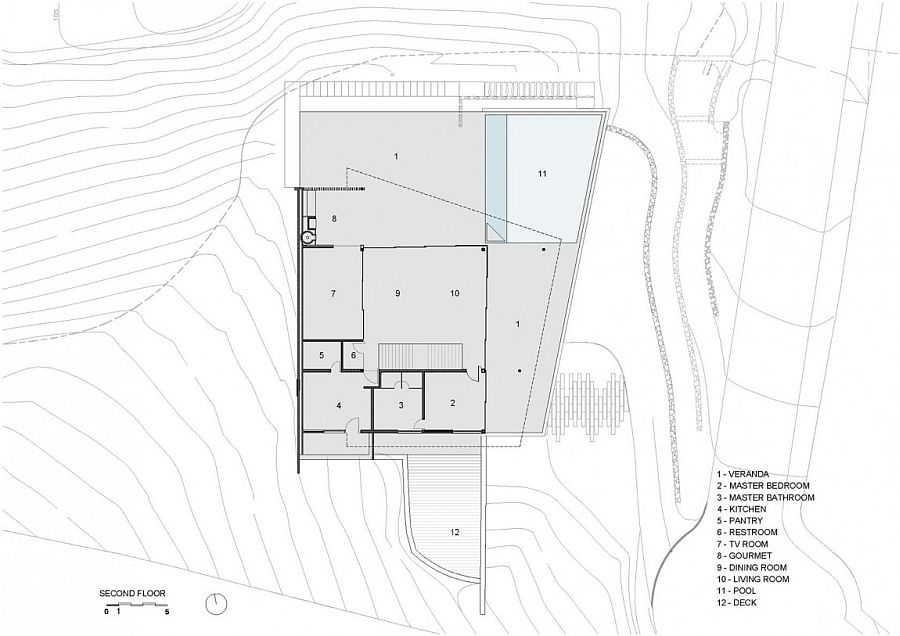 Luxurious oceanside retreat floor plan