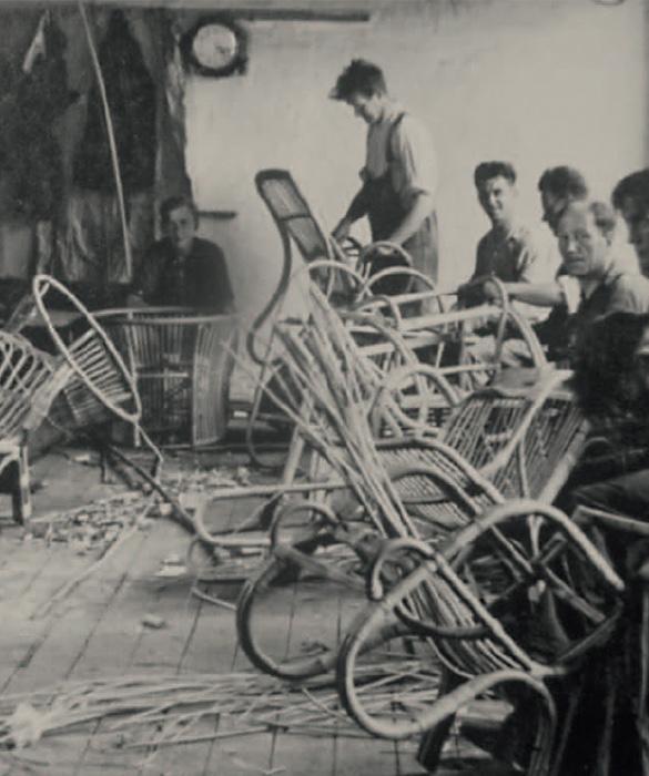 Making the Paris chair