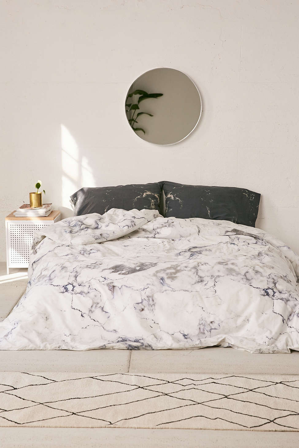 Marble bedding from Urban Outfitters
