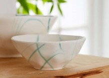Marbled bowls from Urban Outfitters