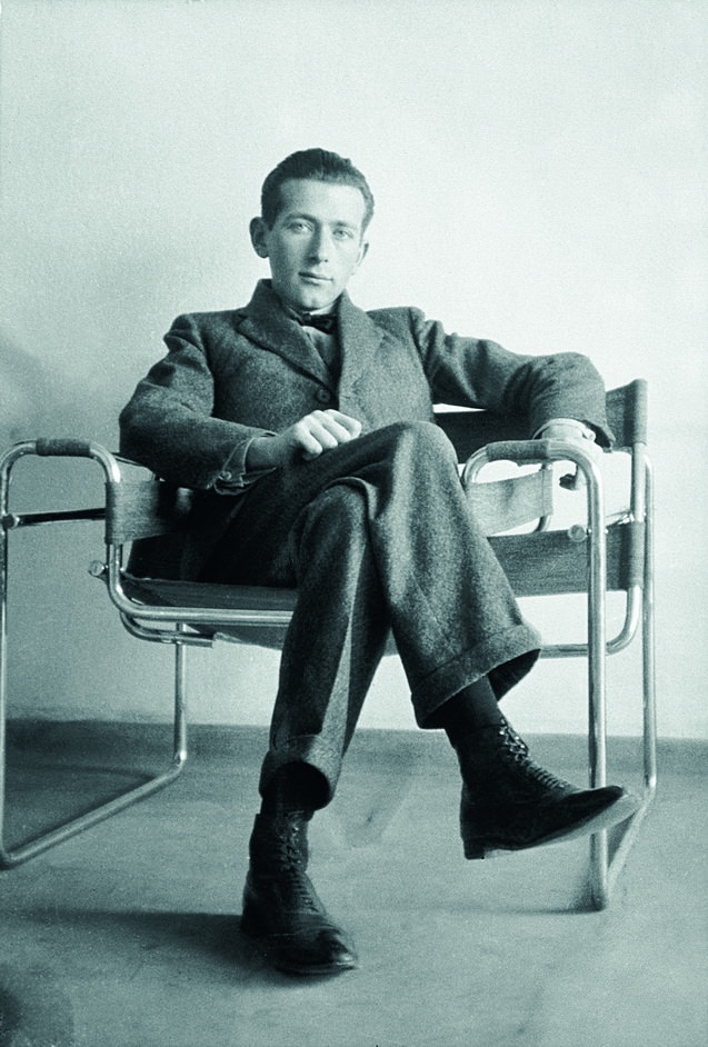 marcel breuer on wassily chair decoist. Black Bedroom Furniture Sets. Home Design Ideas