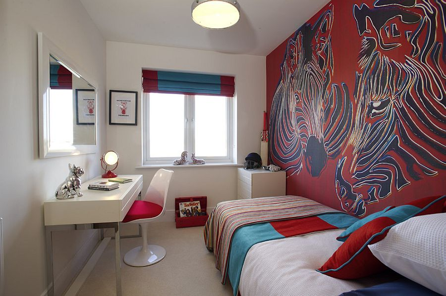 Fiery and Fascinating: 25 Kids\' Bedrooms Wrapped in Shades of Red