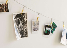 Metal photo clip string set from Urban Outfitters