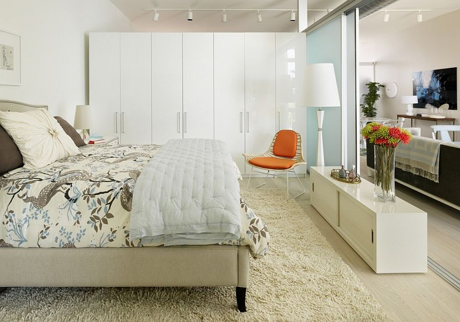 modern scandinavian bedroom is both inviting and minimal design incorporated - Orange Bedroom 2016