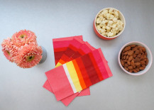 Modern Valentine's Day table