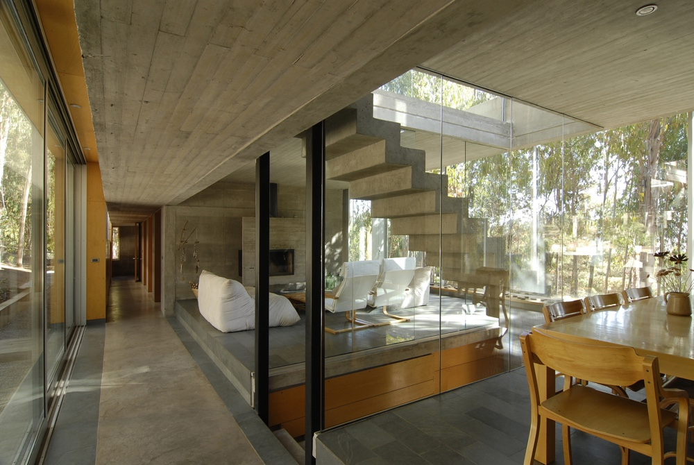 Omnibus House interior