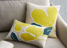 Orchid pillow cover from West Elm
