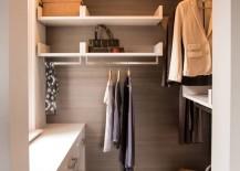 Organized closet with ample storage
