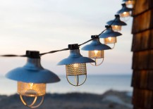 Outdoor string lights from Terrain