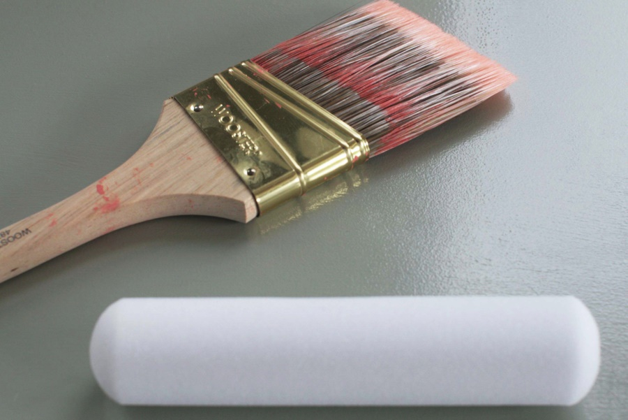 Painting tool options for the front door