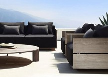 high end garden furniture. outdoor sofas from rh modern high end garden furniture t