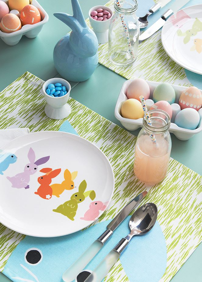 Pastel Easter decor from Crate Barrel An Easter Decor Preview