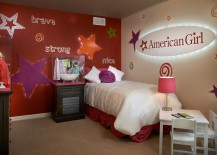 Perfect bedroom for your little starlet!