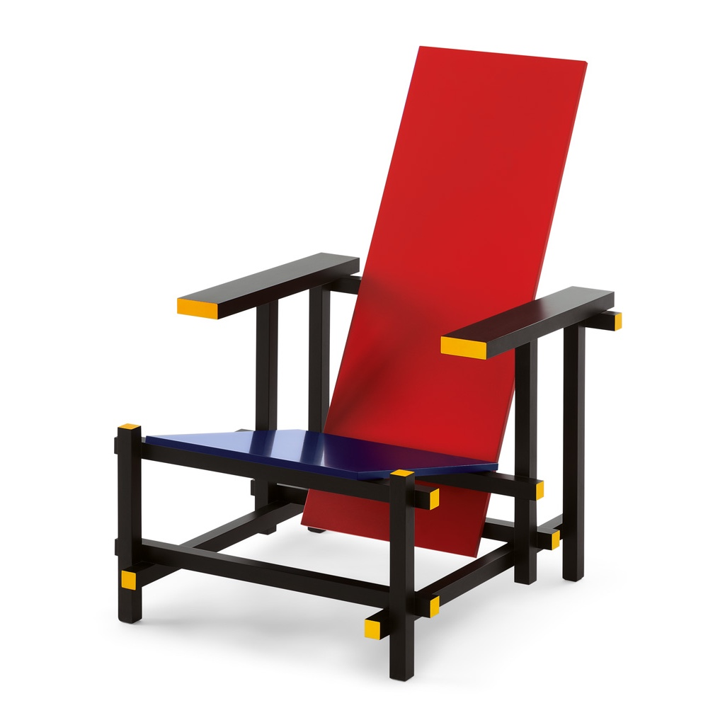 iconic chair designs from the s - view in gallery red and blue chair