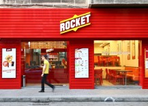 Restaurant branding for Rocket