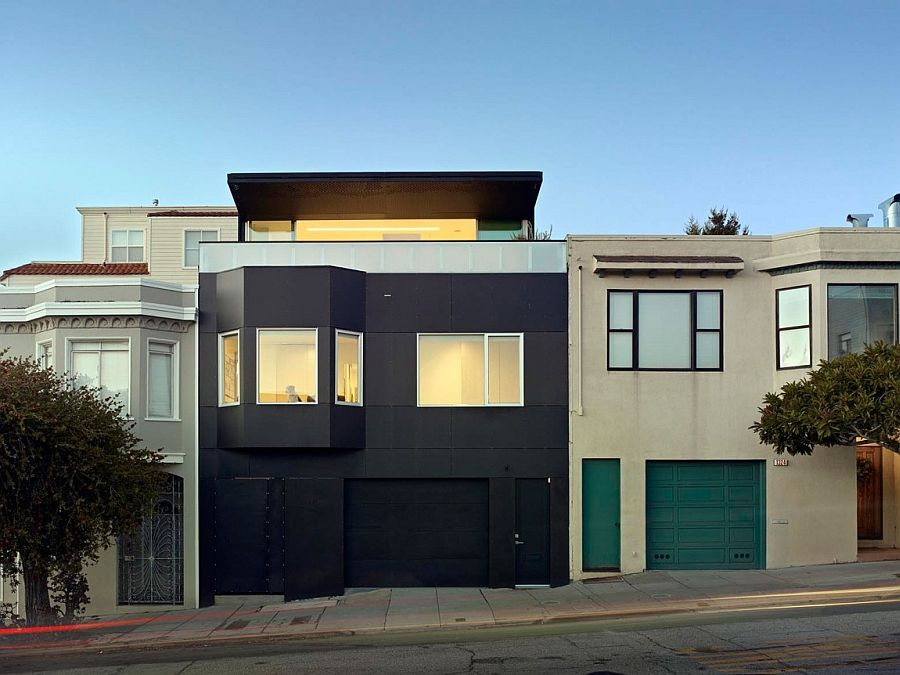 Revamped exterior of San Francisco home offers a striking, budget-friendly option