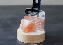 Rock salt and grater set from CB2