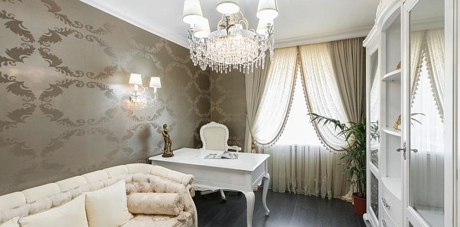 Shabby chic combined with Hollywood glam [From: Masiero]