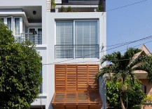 Shop-house townhouse design in Vietnam