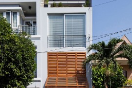Ingenious Townhouse in Saigon is an Enigmatic, Light-filled Delight