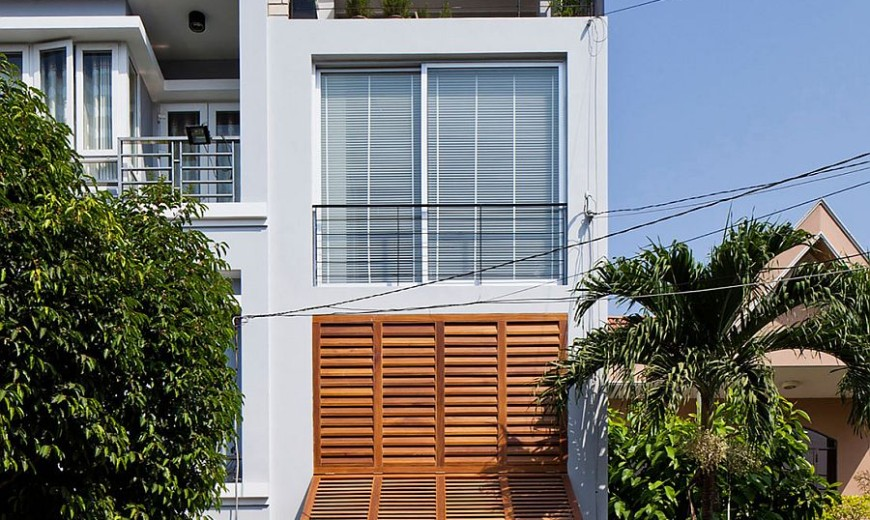 Ingenious Townhouse In Saigon Is An Enigmatic Light Filled Delight