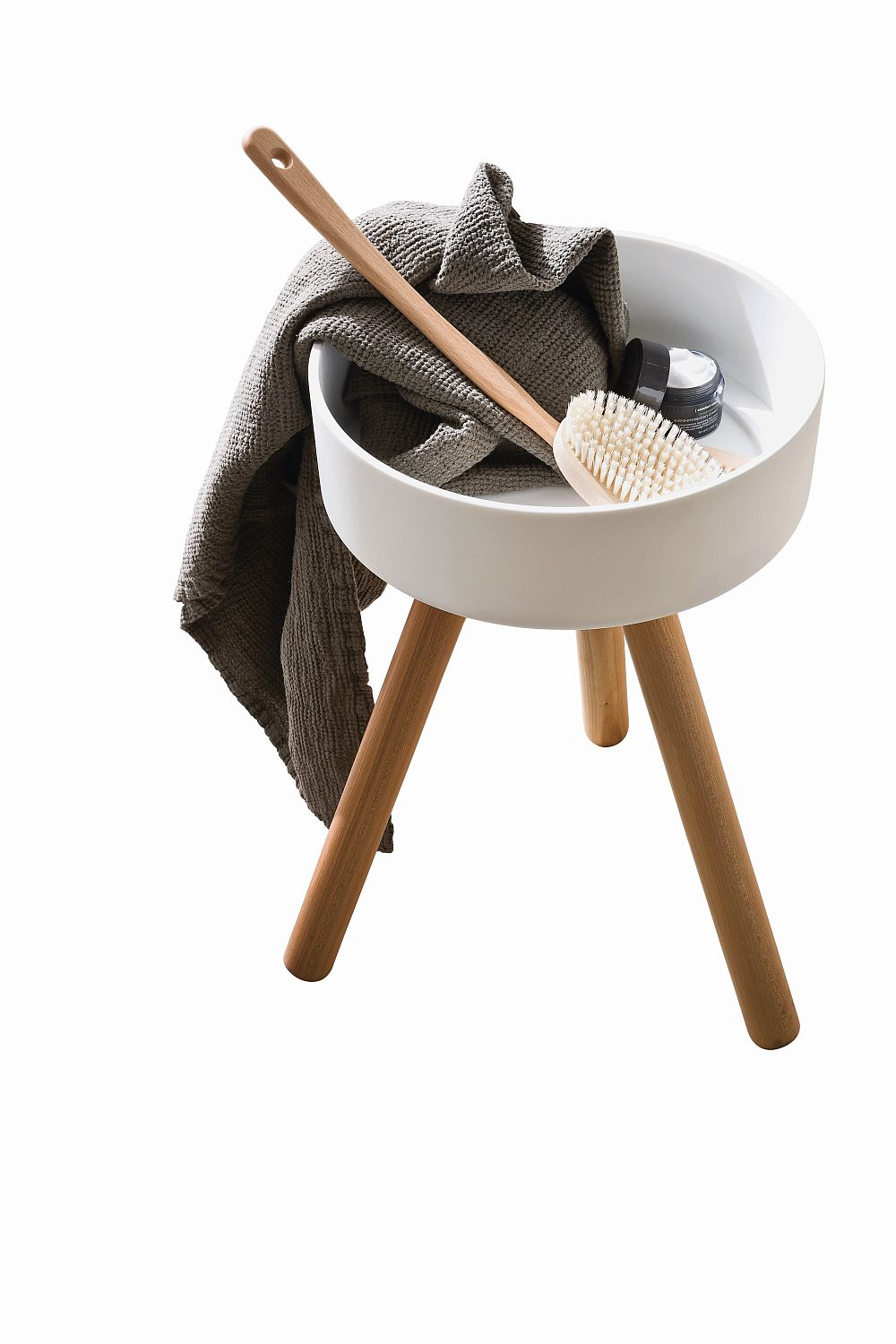 Small stool serves you in more ways than one!