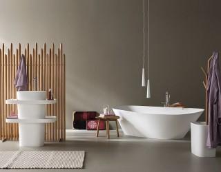 Fonte and Esperanto: Bathroom Décor Brings Home Spa-Style Refinement