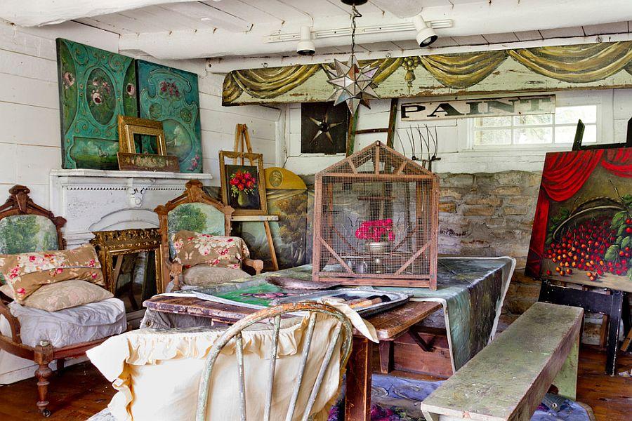 Spacious shabby chic artist's hub! [From: Rikki Snyder]