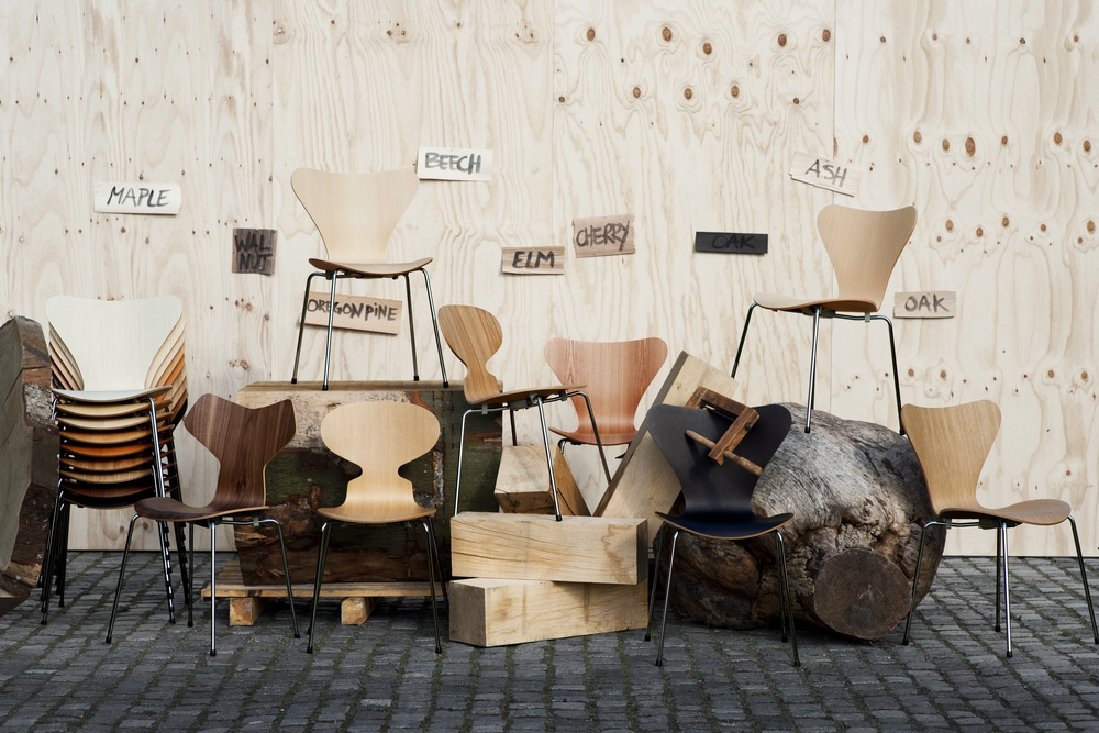 View In Gallery Stacking Chairs By Arne Jacobsen
