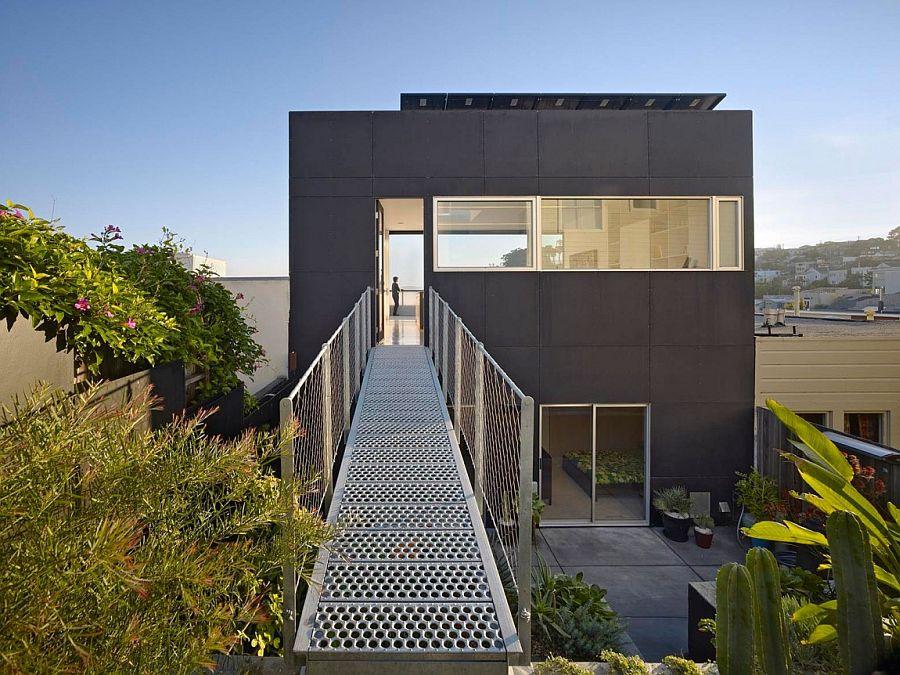 Budget-Friendly Home Renovation Using Matte Black Cladding