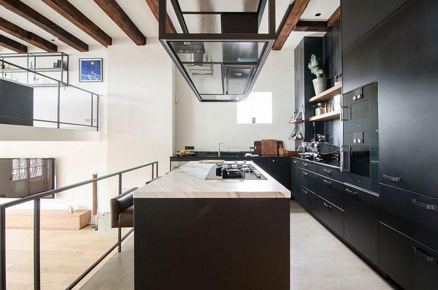 Modern Loft amsterdam canal house turned modern loftstandard studio