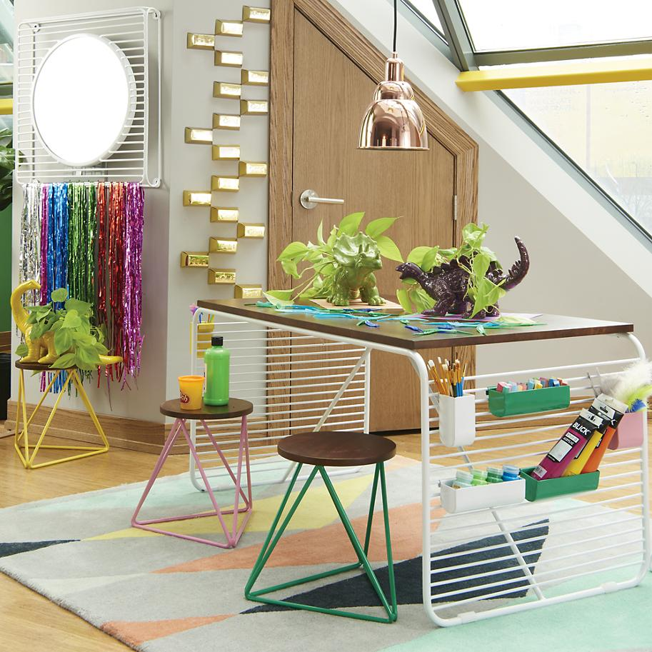 Stylish playroom from The Land of Nod The Latest in Kids Bedroom Trends