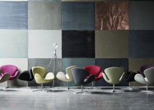 Swan in varied colours 217x155 Arne Jacobsen: A Perfectionist Modernist