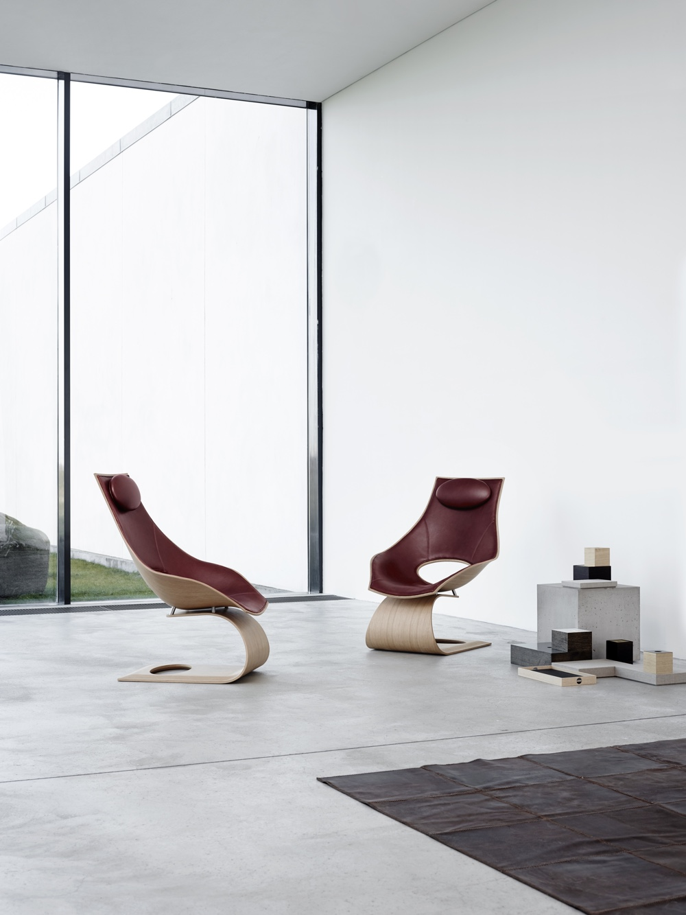 Tadao Ando Dream Chairs
