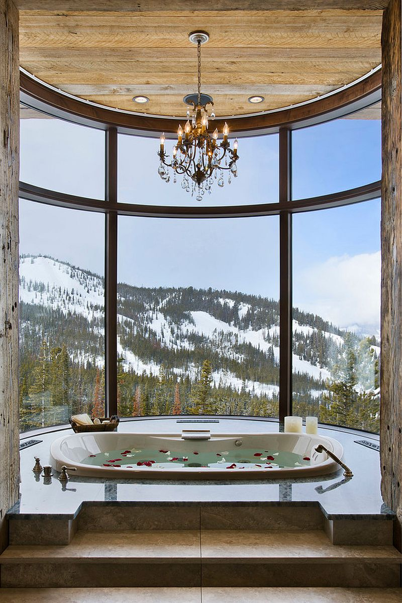 Take a refreshing dip as you enjoy the majestic view outside [Design: Locati Architects]
