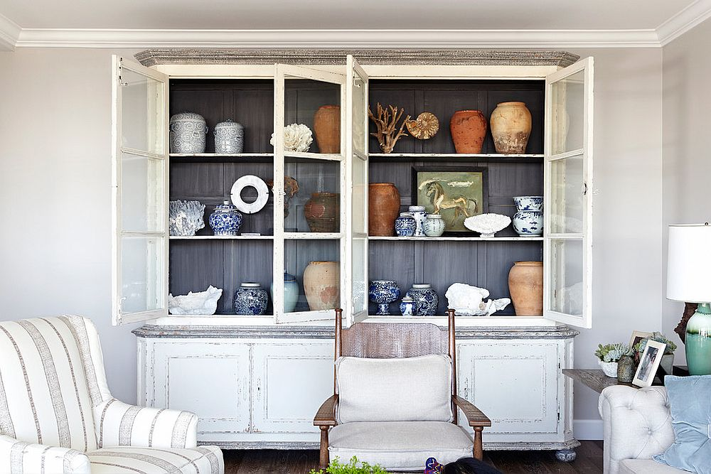 Take the hutch into the open plan living area [Design: Janette Mallory Interior Design]