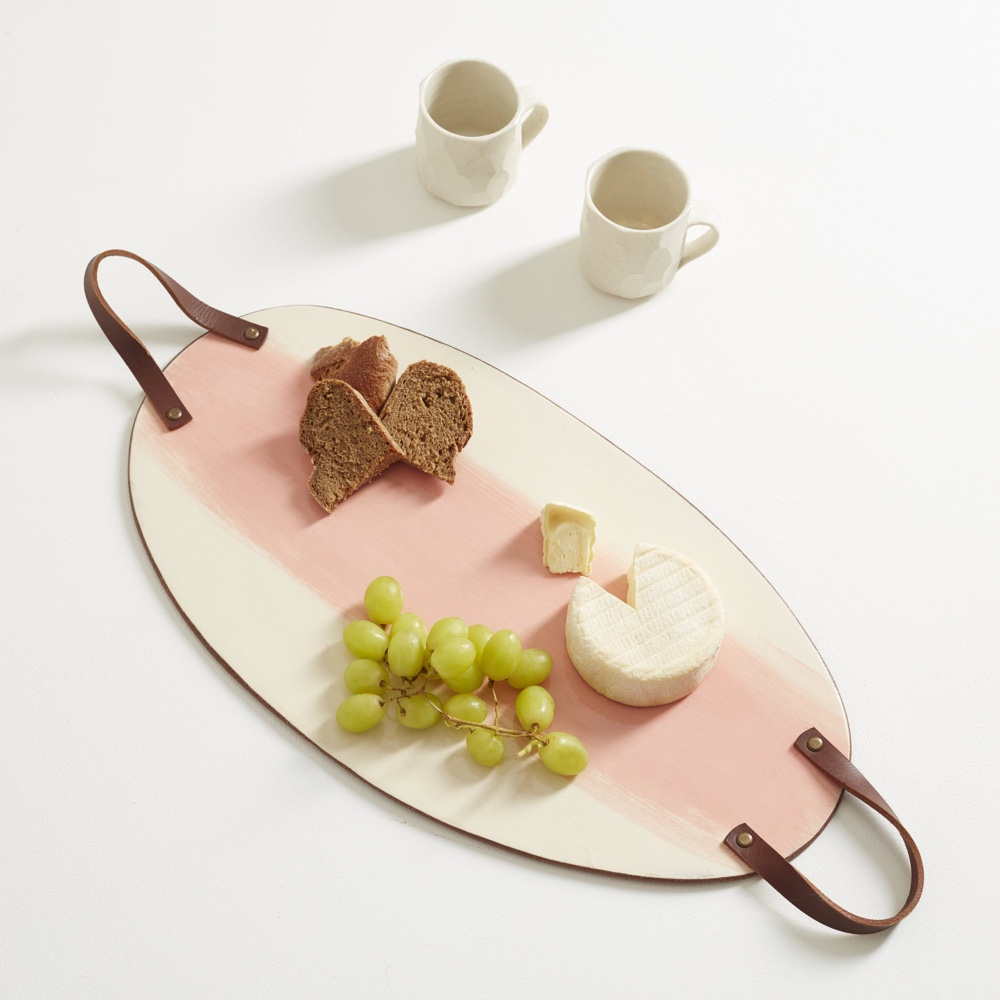 Terracotta crank food board red