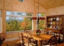 Textured-walls-for-spacious-dining-room-with-warm-hues-217x155
