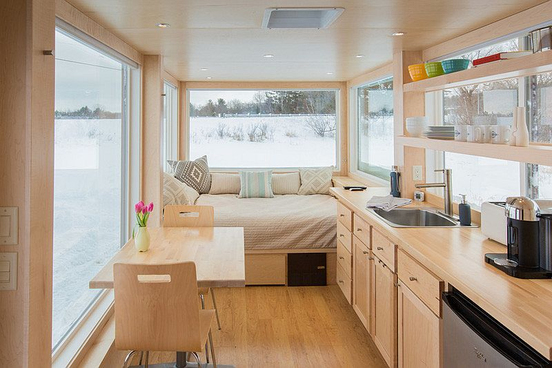 Tiny personal home Vista from Escape Homes Vista: 160 Square Foot Tiny Home Provides an Adaptable Personalized Escape