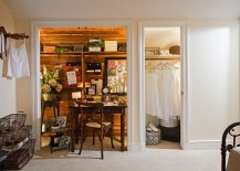 Tiny-shabby-chic-home-office-makes-most-of-the-available-closet-space-217x155