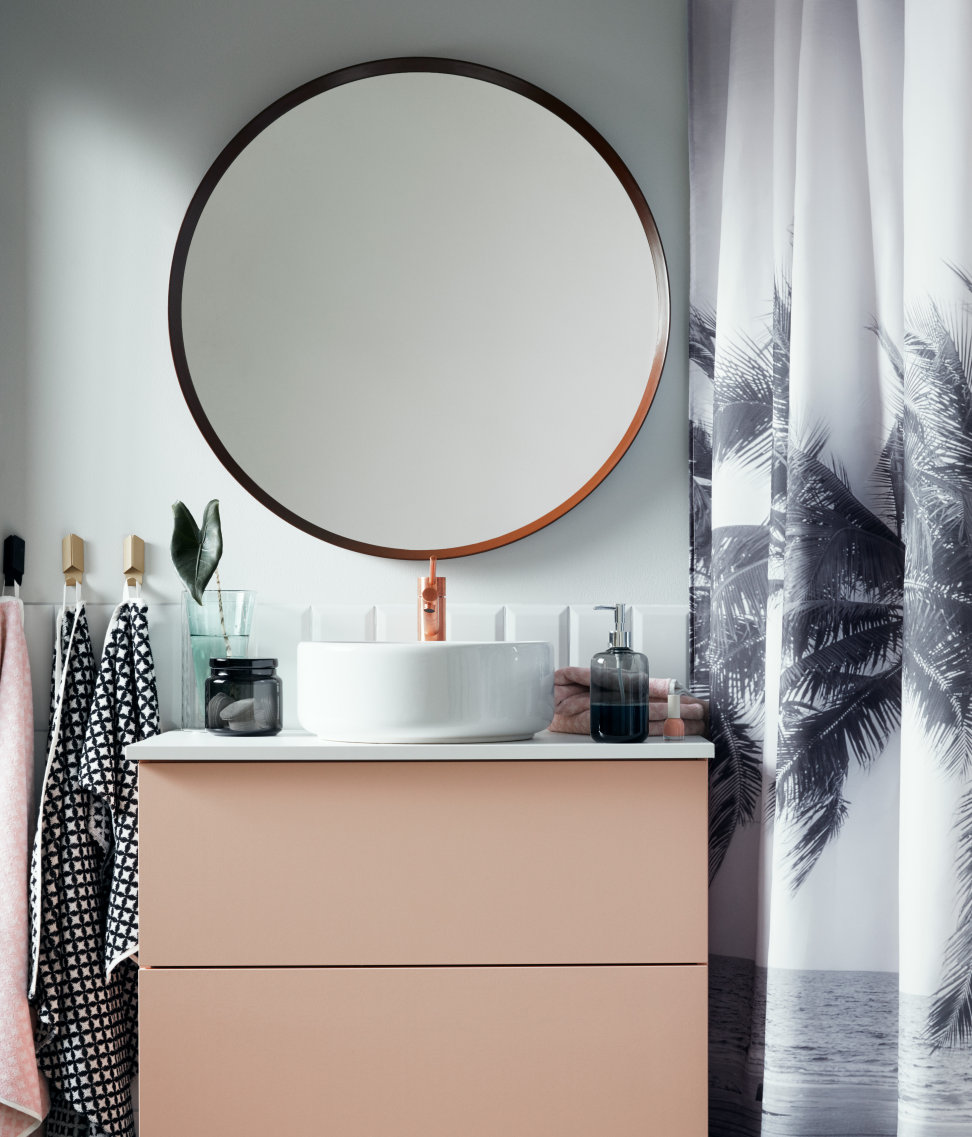 Tropical shower curtain from H&M Home