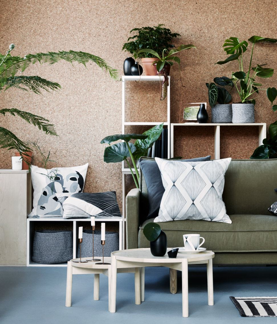 the new beachy: modern tropical decor on the rise